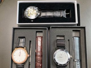 luxury Watches   3 Pack