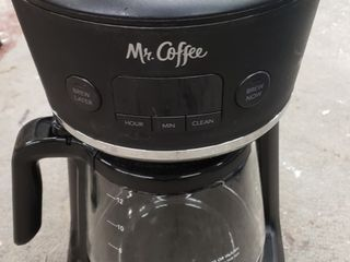 Mr  Coffee Easy Measure 12 Cup Programmable Coffee Maker   Black