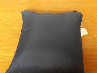 1 Blue Pillow Approx 15 by 15 inch