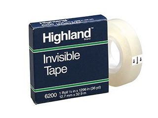 lot of 8  Invisible Permanent Mending Tape MMM6200121296