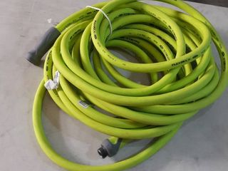 Green Garden Hose Appears Used Untested