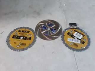 lot of 3 SawBlades