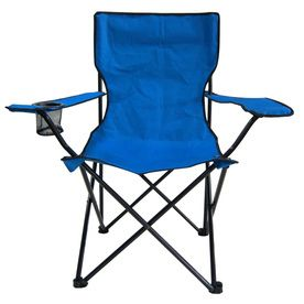 lot of 2  Garden Treasures Indoor Outdoor Steel Camping Folding Chair