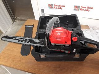 Craftsman Chainsaw with Case Gas 20 inch 46 cc