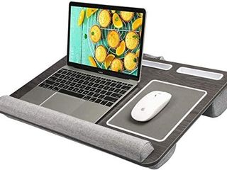 HUANUO lap Desk   Fits up to 17 inches laptop Desk  Built in Wrist Pad