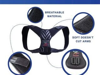 Fancofit Adjustable Back Posture Corrector For Men And Women