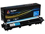 Arthur Imaging Compatible Toner Cartridge Replacement for Brother TN225  Cyan  1 Pack