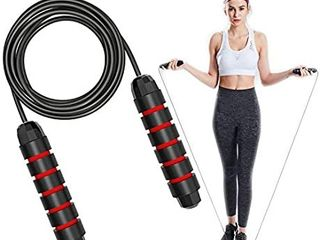 Jump Rope Workout Jump Ropes for Fitness Jumping Skipping Rope for Adults Men Women or Kids  Jumprope for Gym Exercise Speed Training