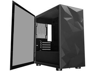 DlM 21 Black Micro ATX Mini Tower Micro ATX Computer Case