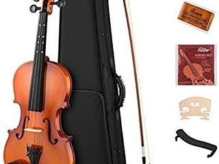 Eastar 4 4 Violin Set Full Size Fiddle EVA 2 for Kids Beginners Students