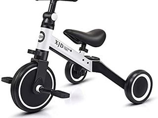 XJD 3 in 1 Kids Tricycles for 1 3 Years Old Kids Trike 3 Wheel Toddler Bike Boys Girls Trikes for Toddler Tricycles Baby Bike Trike Upgrade 2 0
