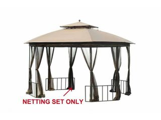 Sunjoy Replacement Mosquito Netting for l GZ660PST D 10X12 Gazebo