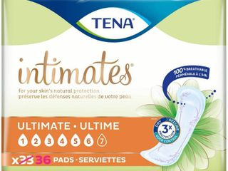 TENA Ultimate Incontinence Pad   33 Ct