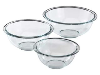 Pyrex Prepware Glass Mixing Bowl Set