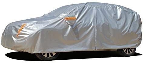 Kayme 6 layers SUV Cover Waterproof All Weather for Automobiles  Outdoor Full Cover Rain Sun UV Protection