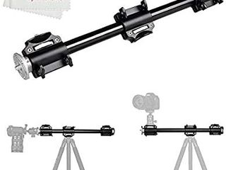Aluminum 3 8 Screw Support Tripod Arm Rock Solid Cross Bar Photography Side Arm