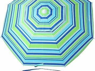 MOVTOTOP Beach Umbrella  UV 50  6 5ft  Tilt  Multi Colored