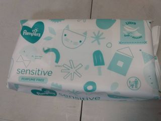 Pampers Sensitive Baby Wipe Refill Pack