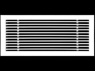 24  X 8  linear Designer Aluminum Supply Air Grille