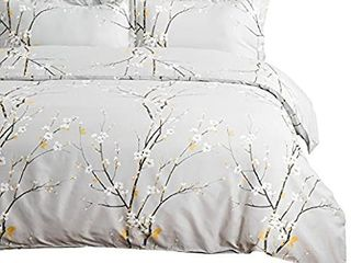 Spring Bloom Pattern Bedding Set Full Queen