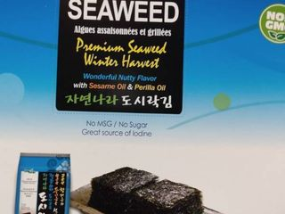 24packs Of 17oz Winter Harvest Seasoned   Roasted Seaweed Jayone