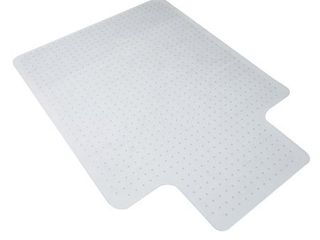 OFM Essentials Collection 36  x 48  Chair Mat with lip for Carpet  ESS 8800C