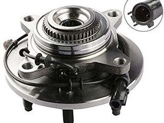 Wheel Bearing Hub Front Wheel Hub and Bearing Assembly 515029 Compatible for F 150 Heritage Expedition w ABS 4WD 4x4 5 lug