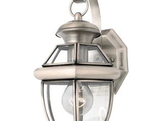 Quoizel NY8315P Newbury 1 light Outdoor Wall lantern with Pewter Finish