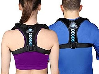 Posture Corrector for Women and Men  Perfect Adjustable Upper Back Brace for Clavicle Support and Providing Pain Relief from Neck Shoulder Upright Straightener Comfortable size large