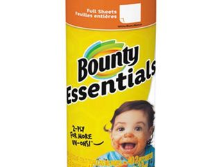 Bounty Basic White Paper Towels  Regular Roll  2ct