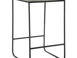 Martha Stewart Hastings Grey  Black Counter Stool Retail 119 99
