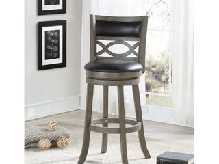 Manchester Antique Grey 29 inch Bar Stool with PU Seat  Retail 139 99