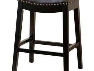 Copper Grove Divjake 26 in  Bonded leather Saddle Counter Stool Retail 121 12