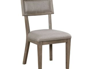The Gray Barn Melody Fields Rustic Grey Side Chairs  single Retail 263 99