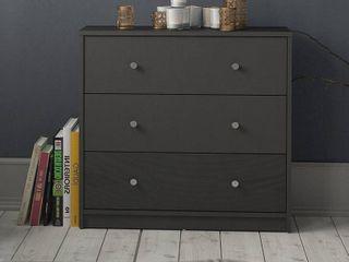 Porch   Den Zoe 3 drawer Chest Black 3 drawer Retail 112 99