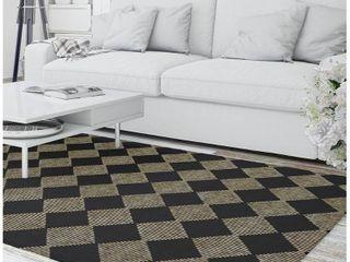 Porch   Den Teton Checkered Pattern Area Rug Retail 168 49