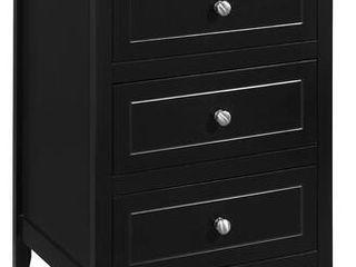 Glory Furniture Daniel 3 drawer Wooden Nightstand Retail 152 49