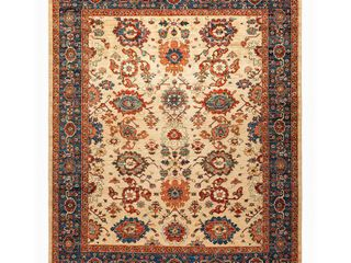One Of A Kind Oriental Serapi Sandcastle 8 ft  2 in  x 9 ft  9 in  Hand Knotted Area Rug by Solo Rugs   Retail 1949 99