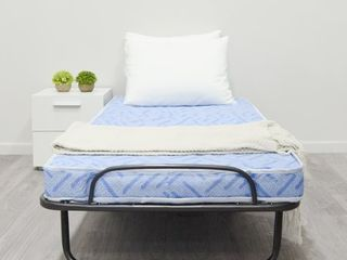 Milliard lightweight 31 by 74 Inch Folding Cot Bed with Mattress  Mattress Color May Vary