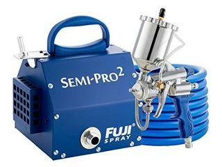 Fuji 2203G Semi PRO 2   Gravity HVlP Spray System  Blue