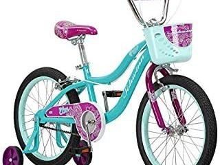 Schwinn Elm Girls Bike For Toddlers And Kids 18 inch Wheels Teal