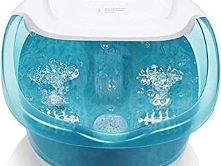 Foot Spa Bath Massager with Heat Bubbles Vibration 3 in 1 Function