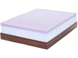 lucid 3  lavender Infused Memory Foam Mattress Topper