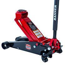 Blackhawk B6350 Black Red Fast lift Service Jack   3 5 Ton Capacity