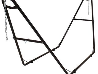 Sunnydaze Universal Multi Use Heavy Duty Steel Hammock Stand  2 Person  Fits Hammocks 9 to 14 Feet long  550 Pound Capacity  Multiple Colors Available