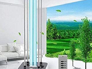 UV light Sanitizer  Area with Quartz Ozone lamp 110V 36W UVC light Improve for Home Room Bedroom Bathroom Car Household Kitchen Hotel Pet Area  MISSING REMOTE