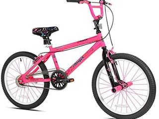 Razor Angel Girls  Bike Pink 20 Inch Rims With 48 Spokes  MISSING 1 PEDAl AND 1 BRAKE lINE IS CUT