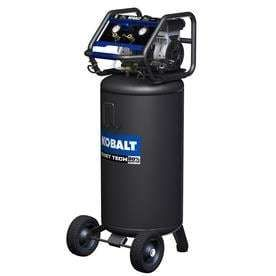 Kobalt QUIET TECH 26 Gallon Portable Electric Vertical Quiet Air Compressor