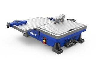 Tile Saw Wet Tabletop Sliding Table Removable Rear Extension Tray Durable Tool no Blade