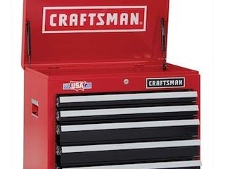 Craftsman 5 drawers 26  wide 5  drawer tool Chest